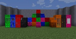 Colored Wood Minecraft Texture Pack