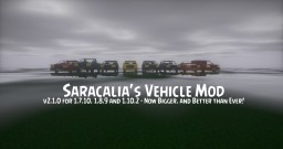 [FORGE]Saracalia's Vehicle Mod 2.0 - v2.1.0 for 1.7.10, 1.8.9 & 1.10.2 Minecraft