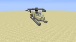 military helicopter Minecraft Map & Project