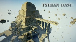 Guardian's Adventure 3: Tyrian Base Minecraft Project