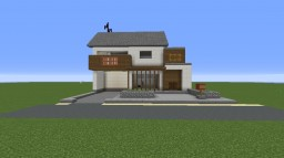 Japanese House [No interior!] Minecraft Project