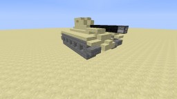 big military tank Minecraft Map & Project