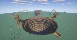 The Mine with A Storage Facility Minecraft Project