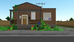 Chisel and Bits Shotgun House Minecraft Map & Project