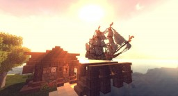 The 'Royal Defiance' Pirate Ship Minecraft Map & Project