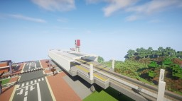 Japanese Station Minecraft Map & Project