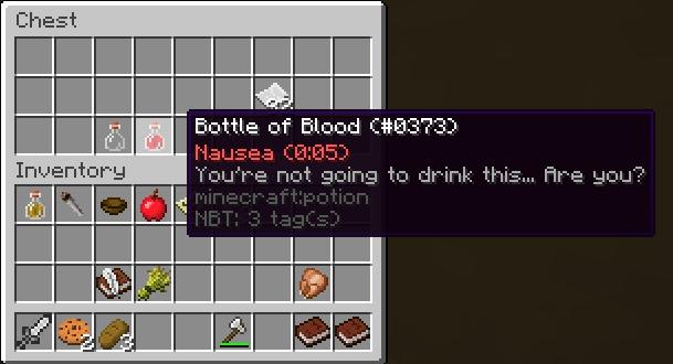 Custom potions!