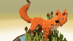 Sneaky Fox Minecraft Map & Project
