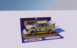 Matchbox Audi by einmaurer | minecraft-spielplatz.de