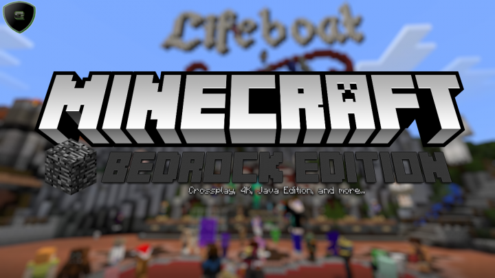 Minecraft Bedrock Edition Crossplay Feature 4k Graphics Java Edition More