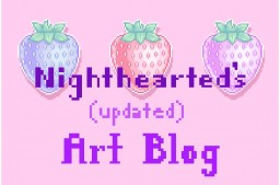 Nighthearted's Art Blog! Minecraft Blog Post