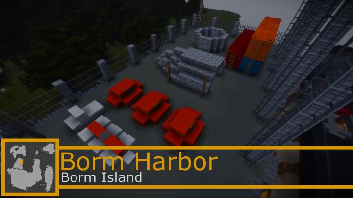 Stanley Shipyard storage area