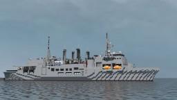 Naval transport ship