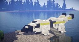 alien covonant dropship lander 01 Minecraft Map & Project