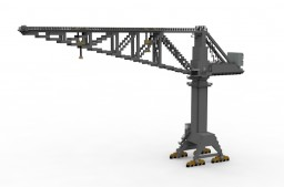 KRUPP Crane for Shipyard  1:1 scale