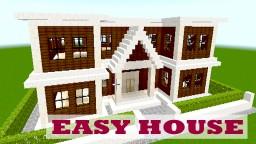 MINECRAFT EASY BIG HOUSE