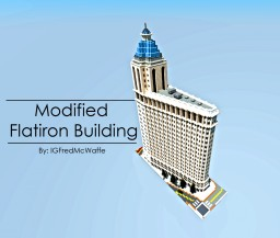 Flatiron Building (Modified) | Republic of Union Islands Minecraft Map & Project