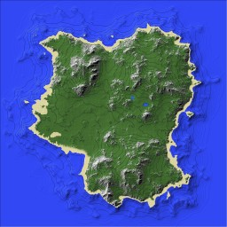 Golden Isle Minecraft Map & Project