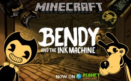 BENDY AND THE INK MACHINE Chapter 1 and 2 Texture pack Minecraft Texture Pack