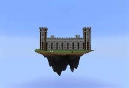 Floating Castle Minecraft Project
