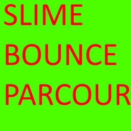 Slime bounce parcour Minecraft Map & Project