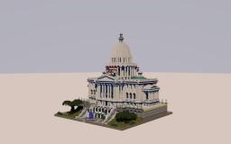 US Capitol incl. museum by ELM0, Triel_, julius & einmaurer | minecraft-spielplatz.de Minecraft Project