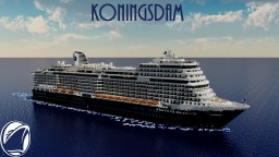 Koningsdam 1:1 Scale Cruise Ship Replica [Interior] [+Download] Minecraft Project