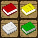 Colored books Minecraft Texture Pack