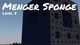 Menger sponge level 5