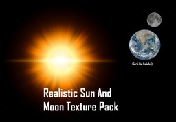 Realistic Sun And Moon