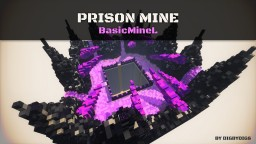 Prison Mine - BasicMineL Minecraft Map & Project