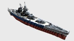 French Battleship Richelieu 1:1