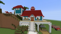 Lilo and Stitch's House. Minecraft Project