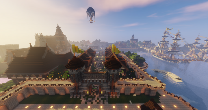 Our Spawn town offers lots of amenities without taking away from the survival gameplay.
