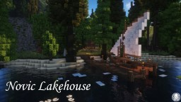 Novic Lakehouse - Valiance Archipelago  | #WeAreConquest Minecraft Project