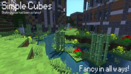 Simple Cubes! - [3D Models & Specular Reflections] Minecraft Texture Pack