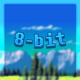 8-Bit Parkour Minecraft Map & Project