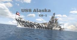 USS Alaska (CB-1) Minecraft Project