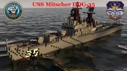 USS Mitscher (DDG-35) Minecraft Project
