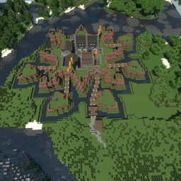 Star Fort Minecraft Map & Project