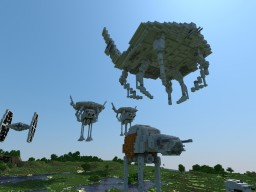 Zeta-class Tactical Carryall STAR WARS EPISODE 8 Minecraft Project