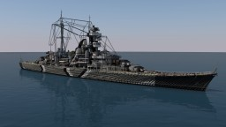 DKM Prinz Eugen - 4:1 Scale Minecraft Project