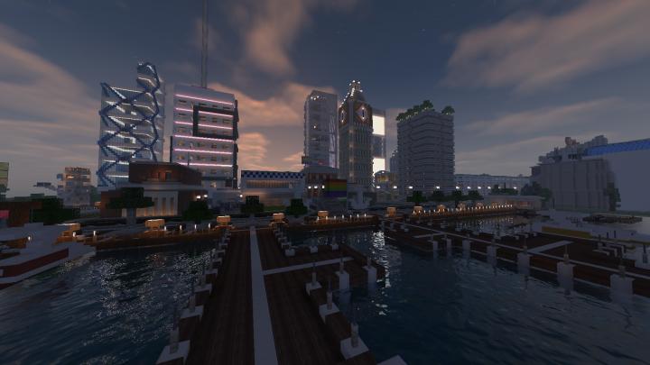CityCenter Bay Side at Night