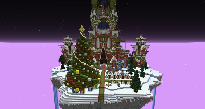 Skyblock Christmas Spawn
