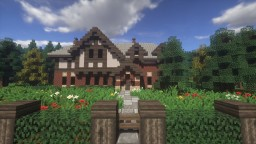 Tudor Revival Mansion Minecraft Map & Project