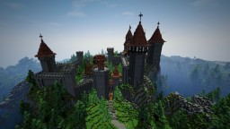 #défibuilt castle for auréliensama Minecraft Project