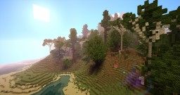Island with big mountain Minecraft Map & Project