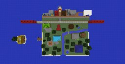 Animal Crossing: New Leaf Town Map Minecraft Project