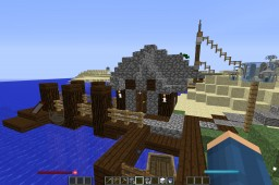 Fishing Hut Minecraft Project