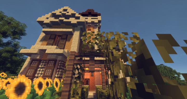 Sunflower Cottage Italianate Mansion Build Furnished